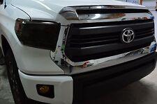 Toyota Tundra Headlight Tint 2014-2018 Overlay Wrap Smoke