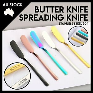 Stainless Steel Spread Jam Butter Knife Kitchen Spreader Cutlery