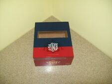 Punch Signature Torpedo Wood/Hinged Cigar Box (Empty)