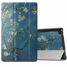 Slim Tri-fold Case Shell Cover For All-New Fire HD 8 2017 Release 8-inch Tablet