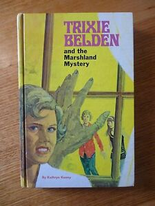 TRIXIE BELDEN and the MARSHLAND MYSTERY  HB