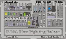 Eduard Zoom SS235 1/72 General Dynamics F-16A Plus Fighting Falcon Hasegawa