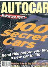 AUTOCAR - 10 January 1996  Road Test: Hyundai Lantra 1.8CD
