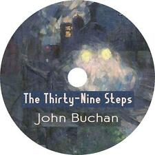 The Thirty-Nine Steps, John Buchan WW1 Audiobook Fiction English on 4 Audio CDs