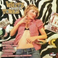 WHITE BOPPIN' TOWER Volume 2 CD new neo ROCKABILLY Various Artists Rock & Roll