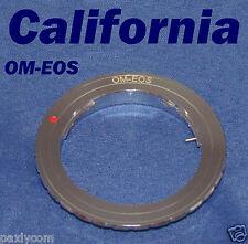 Olympus OM Lens to Canon EOS EF 40D 50D 450D 500D 600D 1100D 650D Rebel Adapter