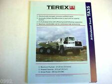 Terex Articulated TA35 Truck Literature