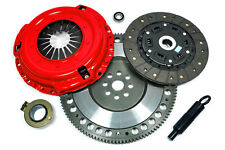 KUPP STAGE 2 RACE CLUTCH KIT+CHROMOLY FLYWHEEL 91-99 SATURN SC SL SW SERIES 1.9L