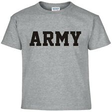 US Army Military Physical Training PT Gear Crossfit Workout Gym Tee T Shirt XL