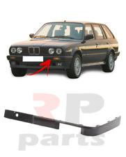 FOR BMW 3-SERIES E30 1987-1990 NEW FRONT BUMPER MOLDING TRIM BLACK LEFT N/S