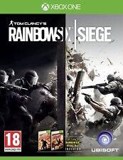 Pal version Microsoft Xbox One Rainbow Six Siege