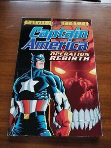 Marvel's Finest Captain America Operation Rebirth TPB Marvel Graphic Novel