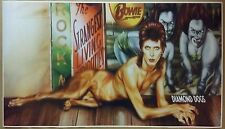 """Ziggy Stardust GIANT WIDE 24"""" x 42"""" Poster David Bowie Diamond Dogs Band Concert"""