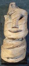 Vintage Wooden Carved Figural Bust, WONDERFUL SCULPTURE - VGC - VERY HANDSOME