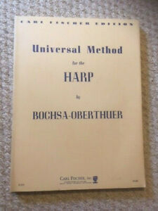 Universal Method for the Harp, Bochsa-Oberthuer