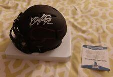 Kyle Rudolph signed Vikings Eclipse Riddell mini helmet Beckett BAS COA #U73704