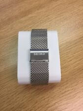 seiko Mesh Shark Strap / Band Stainless Steel Size/width 22mm