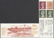 (86008) GB FB37 50p Booklet Theatre St Albans Roman Britain 1986 - 1987