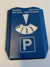 Pkw Stellpaltz Scheibe Timer Uhr Ankunft Zeit Display Disabled Blau Namensschild