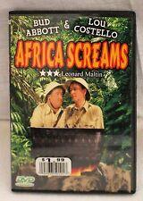 Abbott and Costello Africa Screams (DVD)