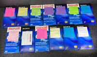 Lot of 13 Pre-Recorded Mix T-120 VHS VCR Tapes Sold As Used Blanks