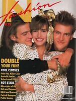 In Fashion Magazine November 1988 Roberta Chirko 120919AME