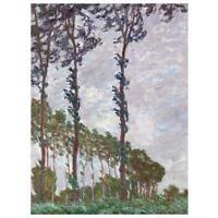 Claude Monet Gemälde Pappeln auf des Epte, Wind Effekt