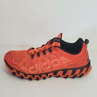Adidas VIGOR TR 4 Mesh Trail Running Hiking Shoes Orange Blue Men's Size 12 Good