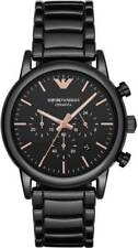 NEW EMPORIO ARMANI AR1509 MENS CERAMIC WATCH - 2 YEARS WARRANTY - CERTIFICATE