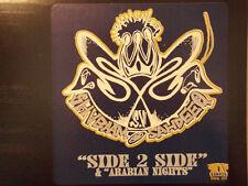 "SHABAAM SAHDEEQ - SIDE 2 SIDE / ARABIAN NIGHTS (12"") 1997!!  RARE!!  NICK WIZ  ♫"