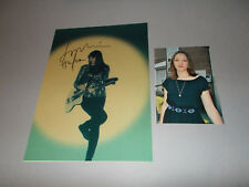 Sophie Hunger Supermoon  signed autograph Autogramm 8x11 photo in person