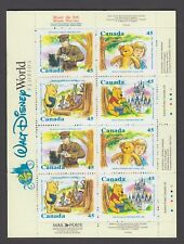 CANADA BOOKLET BK194 16 x 45c WINNIE THE POOH/ 16 PAGE BOOKLETOPEN COVER WITH TI