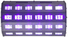 Ibiza Light LED-UV24 High Power Ultraviolet Blacklight UV Flood DMX DJ Disco