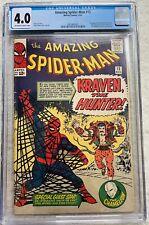 Marvel Comics - Amazing Spider-man 15 (1963) - CGC 4.0 - First Kraven the Hunter