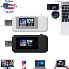 10 in 1 LCD Digital USB Tester Current Voltage Charger Voltmeter Power Detector