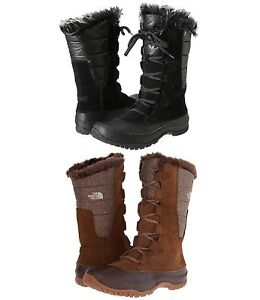 The North Face Womens Nuptse Purna Waterproof Fashion Winter Snow Boots