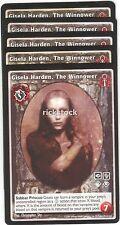 Gisela Harden, The Winnower x5 Harbinger of Skulls BL VTES Jyhad