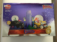 WHO FRAMED ROGER RABBIT SNOWGLOBE DISNEY STORE LIGHTS UP,CARS MOVE,PLAYS JESSICA