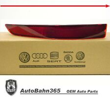 New Genuine OEM VW Rear Bumper Reflector Jetta 2015-2016 MK6 Driver Side Marker