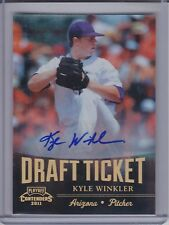 KYLE WINKLER 2011 Playoff Contenders Draft Ticket Autograph #DT69 (C9441)