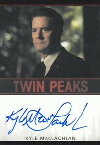 Twin Peaks 2019 Archives Kyle MacLachlan as Dale Cooper Auto Card