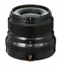 Fujifilm 23mm XF F2 R WR Lens MINT (black)
