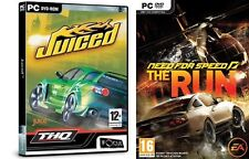 Juiced & Need for Speed la carrera Nuevo y Sellado