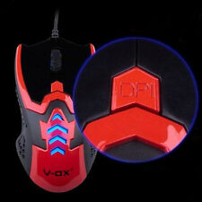 V-OX High Resolution Optical 2400DPI Adjustable 6D USB Wired Game Laser Mouse