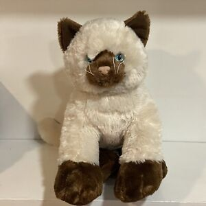 "Build-A-Bear 12"" Promise Pets Siamese Himalayan Kitty Cat Plush Stuffed Animal"