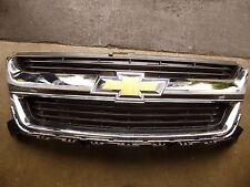 2016 Chevrolet Colorado grille black with chrome surround