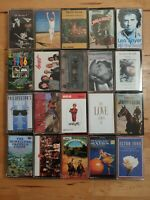 audio music cassette tapes bundle joblot x 20 as pictured mct01