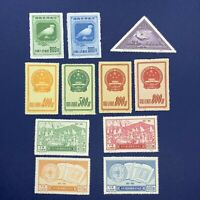 1951 CHINA STAMP COLLECTION SHORT SETS- PEACE, EMBLEMS, PICASSO. UNUSED