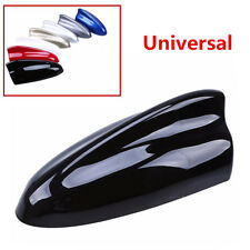 Black ABS Shark Fin Antenna FM Signal Amplifier SUV Car Roof Stickers Decoration