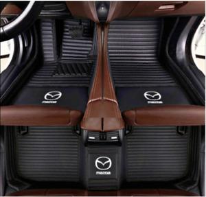 For Mazda3 5 6 CX-3 CX-5 CX-7 CX-9 2006-2019  Luxury Carpets Car floor mats